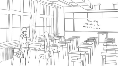 How to draw a classroom step 5