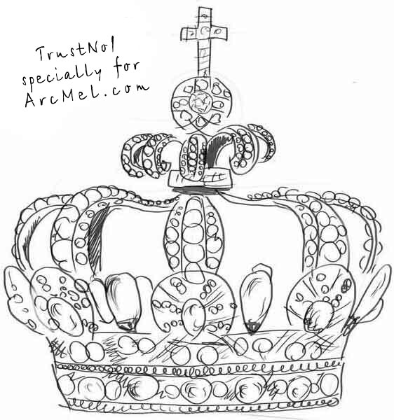 How To Draw A Queen Crown Step By Galleryhipcom