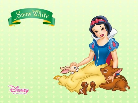 How to draw Snow White step by step