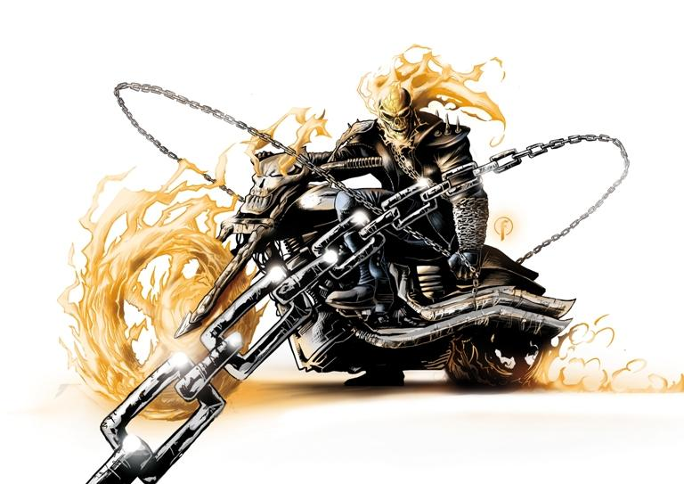 How To Draw The Ghost Rider Step By Step Arcmel Com