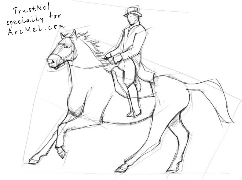 How to draw a rider step by step arcmel how to draw a rider step by step ccuart Gallery