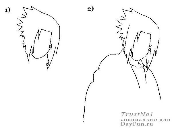 Drawing Smooth Lines With Cocos2d : How to draw sasuke step by arcmel