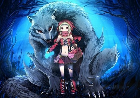 How to draw a Little Red Riding Hood