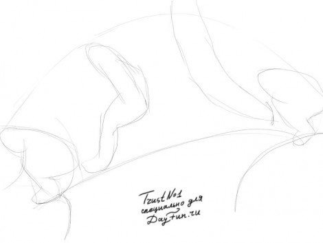 How to draw parkour step by step 1