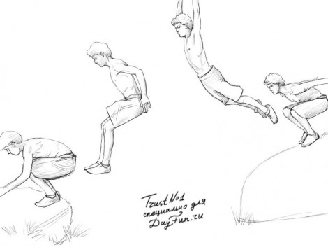 How to draw parkour step by step 4
