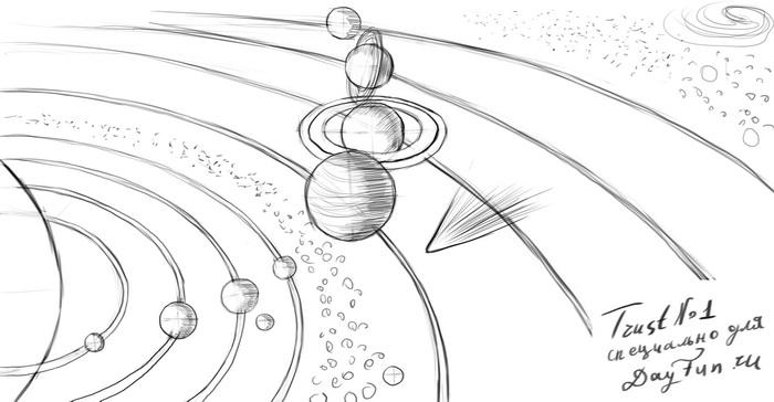 How To Draw Planets Step By Step Arcmel Com