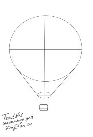 How to draw balloons step by step 3