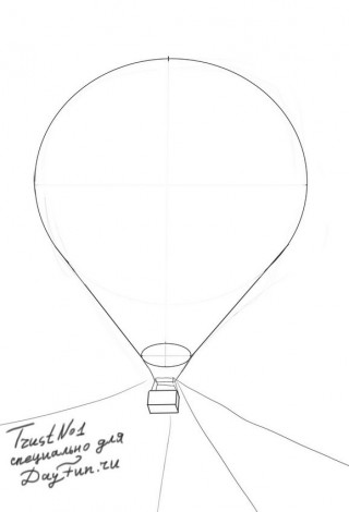 How to draw balloons step by step 2