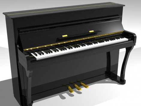 How to draw piano keyboard
