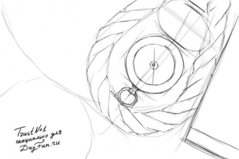 How to draw a compass step by step 2