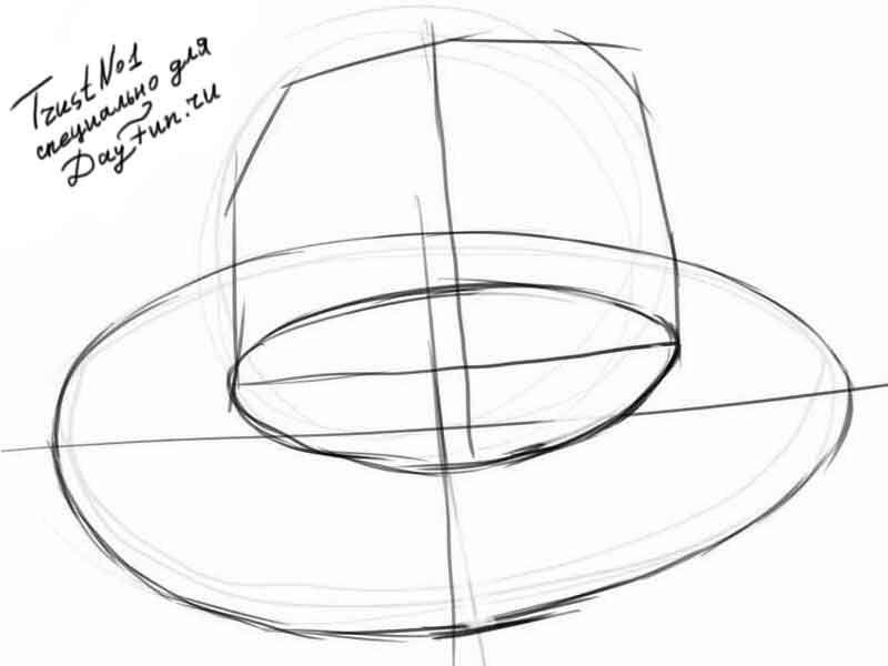 how to draw santa hat step by step