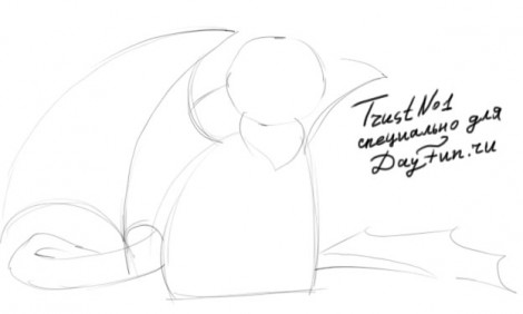 how to draw a night fury from how to train your dragon 1