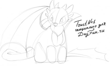 how to draw a night fury from how to train your dragon 2