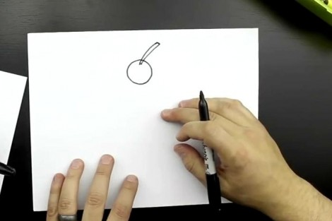 How to draw cake step by step 1