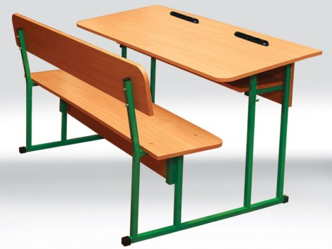 how to draw a school desk