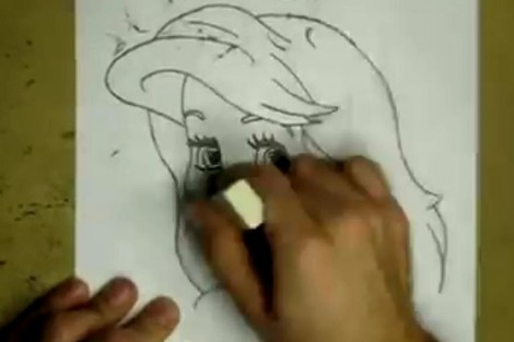 how to draw ariel the little mermaid step by step 6