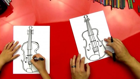 how to draw cello step by step 9