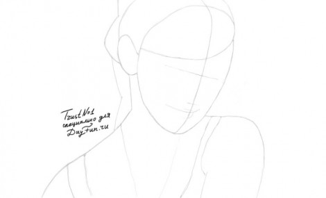 how to draw emma watson step by step 1