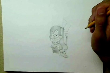 how to draw gravity falls characters 2