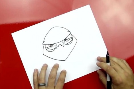how to draw master yoda step by step 3