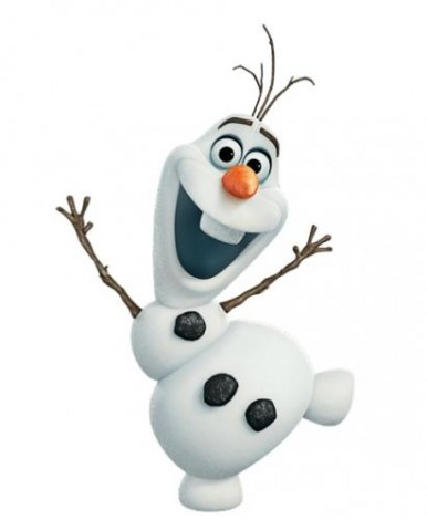 how to draw olaf