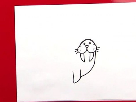 How To Draw A Walrus.mp4_20150925_225318.354