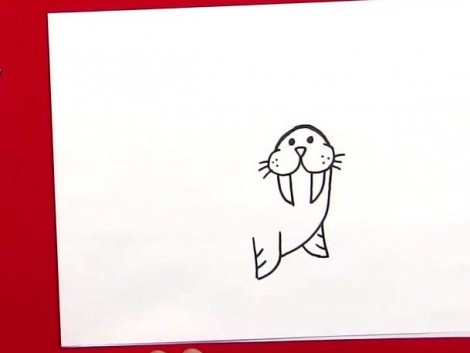 How To Draw A Walrus.mp4_20150925_225321.642
