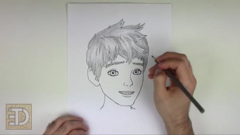 How to Draw Jack Frost from Rise of the Guardians.mp4_20150918_114048.623