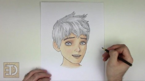How to Draw Jack Frost from Rise of the Guardians.mp4_20150918_114051.711