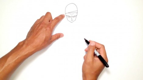 How to Draw Piccolo (Dragon Ball Z)- Step by Step.mp4_20150916_222405.852