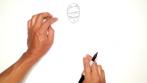 How to Draw Piccolo (Dragon Ball Z)- Step by Step.mp4_20150916_222409.060