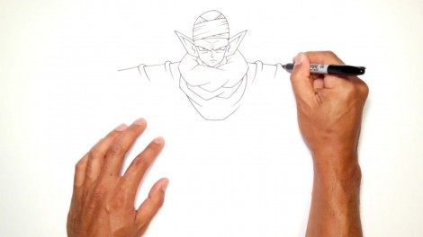 How to Draw Piccolo (Dragon Ball Z)- Step by Step.mp4_20150916_222424.444