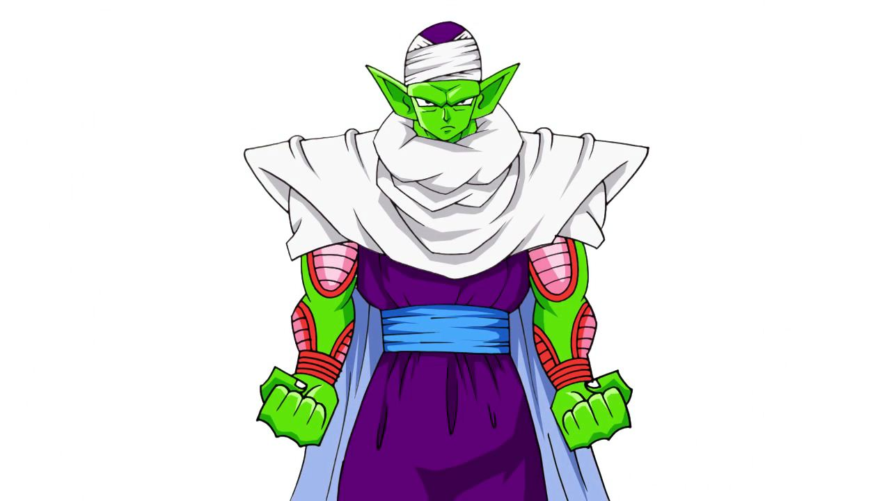 How to draw Piccolo from Dragon Ball Z | ARCMEL.COM