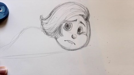 How to Draw SADNESS from Pixar's Inside Out- @dramaticparrot.mp4_20150929_200203.744