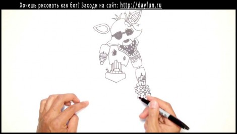 how to draw FNAF 11