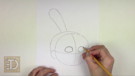 how to draw agnes from despicable me step by step 2