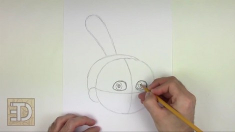 how to draw agnes from despicable me step by step 3