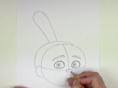 how to draw agnes from despicable me step by step 4