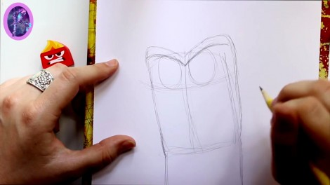 How to Draw ANGER from Pixar's Inside Out - @dramaticparrot.mp4_20151004_230245.739