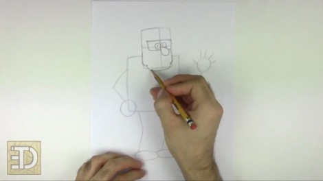 How to Draw Grunkle Stan from Gravity Falls.mp4_20151011_185926.487