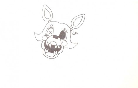 How to Draw Mangle- FNAF 2- Video Lesson.mp4_20151005_203509.019