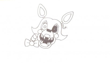 How to Draw Mangle- FNAF 2- Video Lesson.mp4_20151005_203511.791