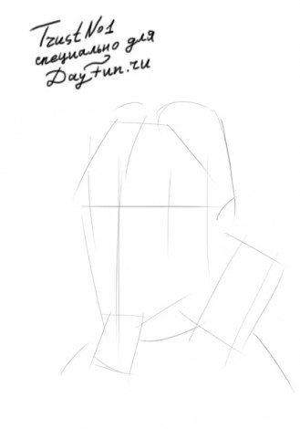 how to draw gas mask step by step 1