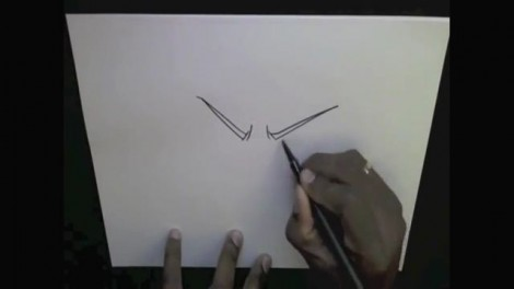 HOW TO DRAW MADARA UCHIHA 1