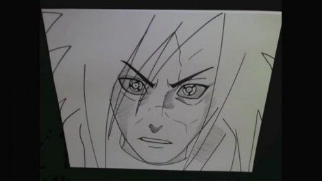 HOW TO DRAW MADARA UCHIHA 10