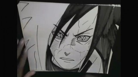 HOW TO DRAW MADARA UCHIHA 12