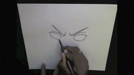 HOW TO DRAW MADARA UCHIHA 3