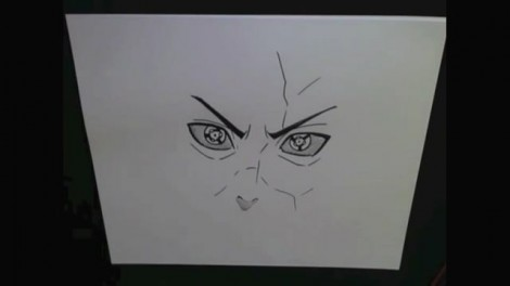HOW TO DRAW MADARA UCHIHA 6