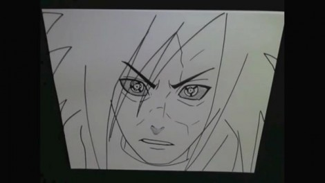 HOW TO DRAW MADARA UCHIHA 9