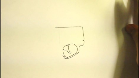 How To Draw A Pistol-Step By Step-Gun-On Paper..mp4_20151103_192128.922